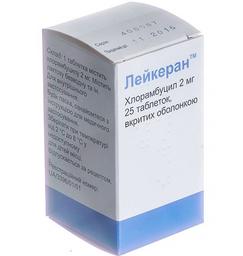 ЛЕЙКЕРАН (Хлорамбуцил) / LEUKERAN (Chlorambucil)