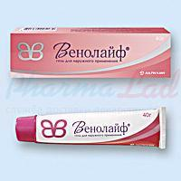 ВЕНОЛАЙФ гель (гепарин) / VENOLIFE gel (heparin sodium)
