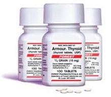 АРМОУР, АРМОР ТИРОИД / ARMOUR THYROID (Levothyroxine, Liothyronine)