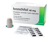 БРОНХИТОЛ порошок для ингаляции (Маннитол) / BRONCHITOL powder for inhalation (Mannitol)