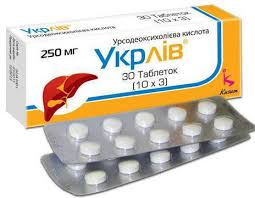 УКРЛИВ (Кислота урсодезоксихолевая) / UKRLIV (Ursodeoxycholic acid)
